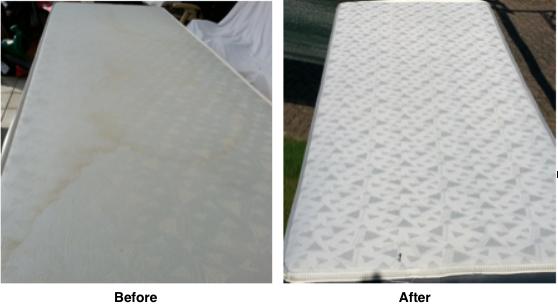 a mattress before allerx and after
